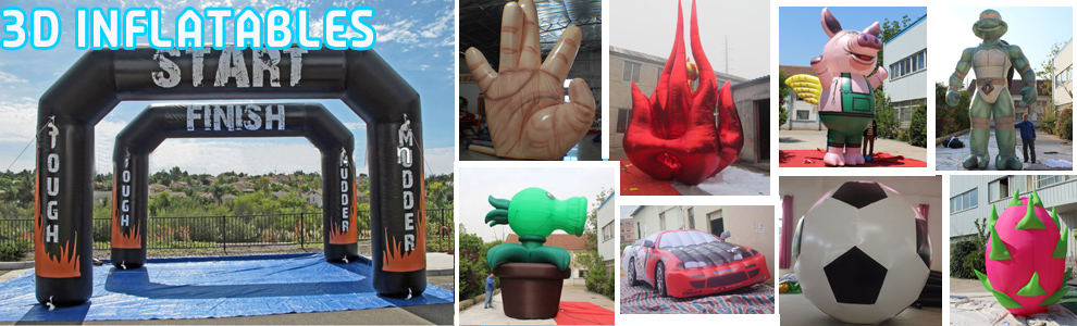 3D inflatables