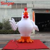 Customized 3m inflatable cock,inflatable chicken,inflatable rooster