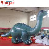 lifelike inflatable dinosaur for zoo exhibition/party