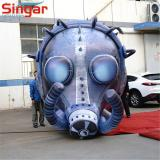 3m large inflatable gas mask balloon