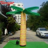 Giant inflatable palm tree for decoration