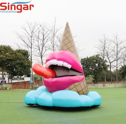 5m(16.4ft)inflatable ice cream model