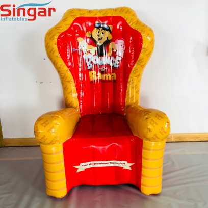 1.6m(5.2ft) airtight PVC inflatable chair for adult and kids