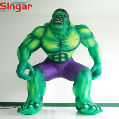 Giant 4m inflatable giant hulk model