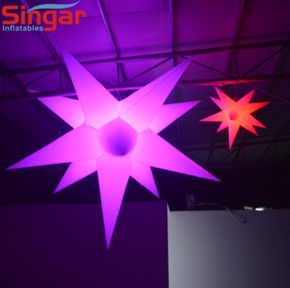 1.5m(4.9ft) inflatable lighting star