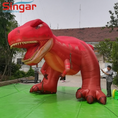 Festival parade 5m inflatable dinosaur decoration