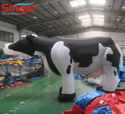 5m 16.4ft inflatable cow model for promotion