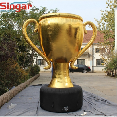5m large inflatable trophy cup