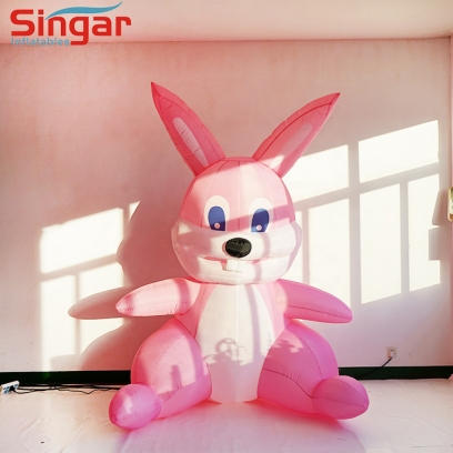 Inflatable Easter Bunny,Inflatable Pink Rabbit