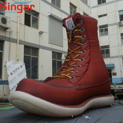 5m(16.4ft)inflatable giant shoes for promotion