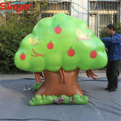 3m custom inflatable fruit tree decoration