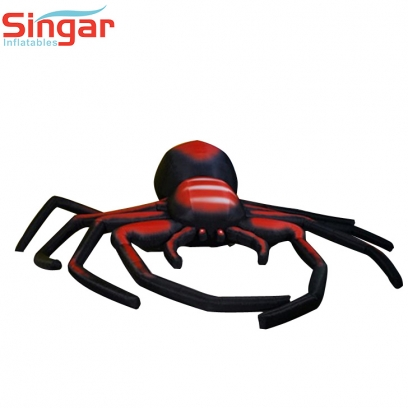 Giant 3m inflatable halloween black spider,inflatable roof spider