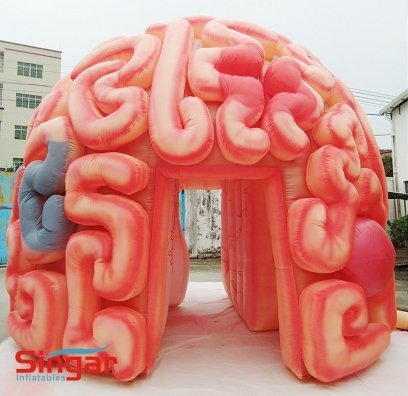 14.8ft giant inflatable brain model,display brain inflatables