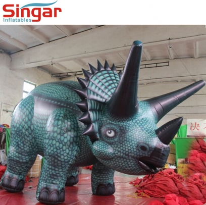 Decoration inflatable Triceratops dinosaur cartoon