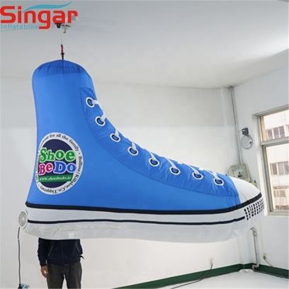 2m(6.6ft) large inflatable shoes replica