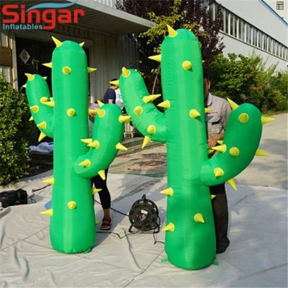 2m giant inflatable green cactus tree/plant