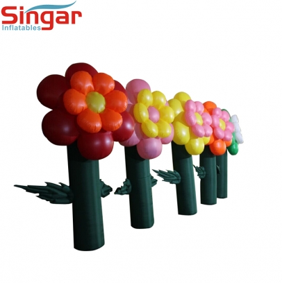 High quality inflatable garden flower tree for party/festival decoration