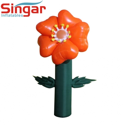 Decorative inflatable flower tree balloon