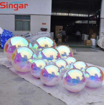 New hot sale inflatable mirror sphere for party decoration