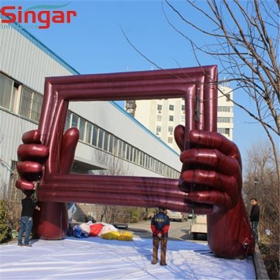 5m(16.4ft)giant inflatable photo frame