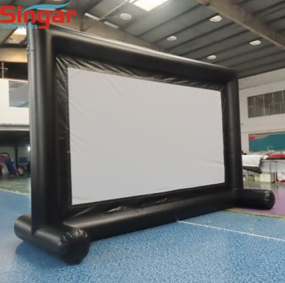 5.1m removable velcro inflatable movie screen