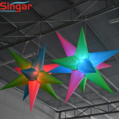 1.5m(4.9ft) inflatable lighting star balloon