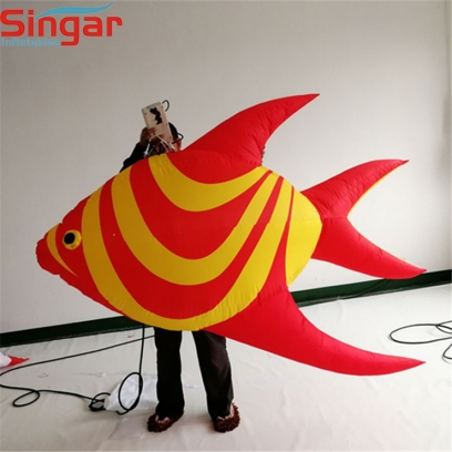Hot selling decorative inflatable tropical fishes