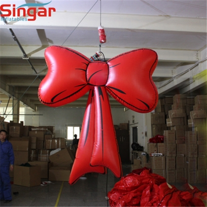 Party decoration inflatable lighting bowknot