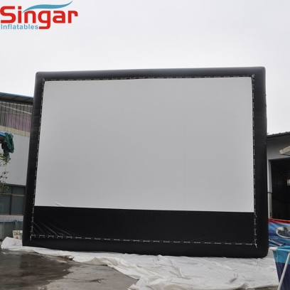 7m inflatable outdoor movie screen