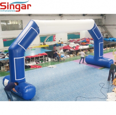 10.5 inflatable rental archway with velcros