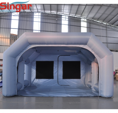 4m Portable inflatable spray paint booth tent