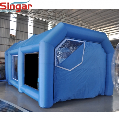 7m Inflatable car paint tent for sale