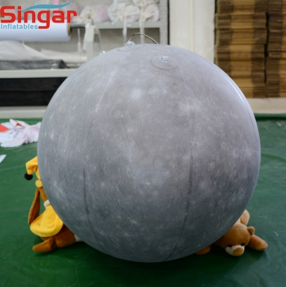 Inflatable Mercury planets ball,mercury balloon for decoration