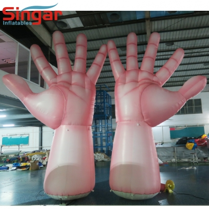 5m giant inflatable hands for party/show