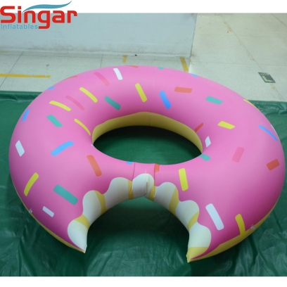 2m(6.6ft) inflatable hanging donut,inflatable pvc donut,inflatable decoration donut for party