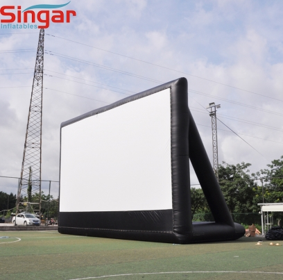 46ft giant inflatable outdoor cinema theater