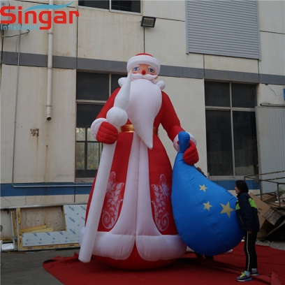 6m(19.7ft) giant inflatable Kriss Kringle for Promotion