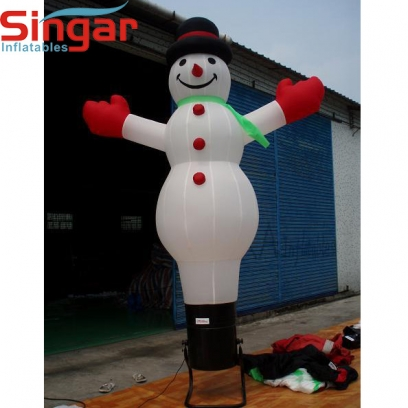 5m(16.5ft)self-standing inflatable christmas snowman